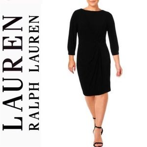 Lauren Ralph Lauren Anavera Gathered Dress